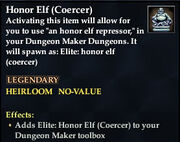 Honor Elf (Coercer)