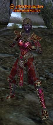 A Teir'Dal attacker