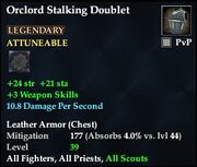 Orclord Stalking Doublet