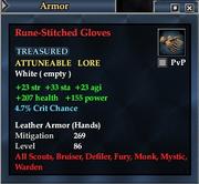 Rune-Stitched Gloves