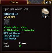 Spiritual White Gem
