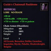 Guide's Chainmail Pauldrons