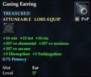 Gazing Earring
