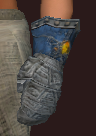 Vesspyr Scout's Blue Gauntlets (Equipped)