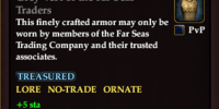 Grey Vest of the Far Seas Traders