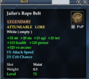 Jailer's Rope Belt