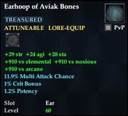 Earhoop of Aviak Bones