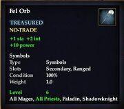 Fel Orb