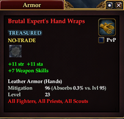 Brutal Expert's Hand Wraps