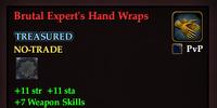 Brutal Expert's Hand Wraps