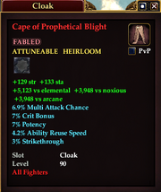 Cape of Prophetical Blight