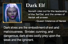 Dark Elf (Character Race)