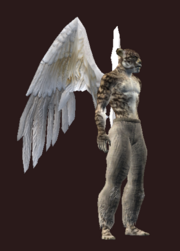 Pegasus Feather Flight Wings (Equipped)