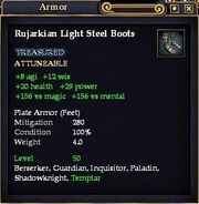Rujarkian Light Steel Boots