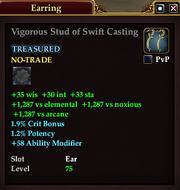 Vigorous Stud of Swift Casting