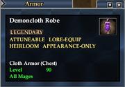 Demoncloth Robe