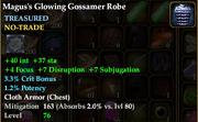 Magus's Glowing Gossamer Robe