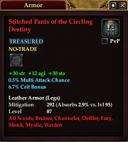 Stitched Pants of the Circling Destiny