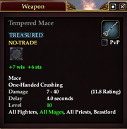 Tempered Mace