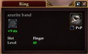 Azurite band