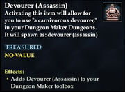 Devourer (Assassin)