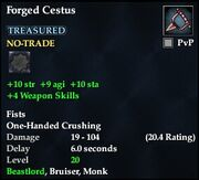 Forged Cestus
