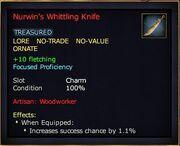 Nurwin's Whittling Knife