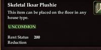 Skeletal Iksar Plushie