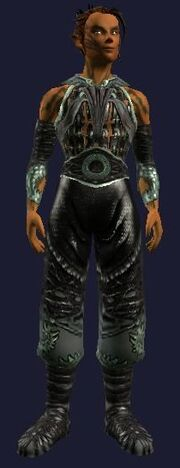 Sathirian Dragonslayer Leather Gi (Visible, Male)