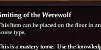 Smiting of the Werewolf