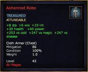 Ashenroot Robe