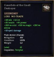 Gauntlets of the Gnoll Destroyer