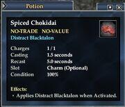 Spiced Chokidai