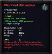 Slime Fused Mail Leggings