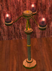 Ruby-red-glass-candelabra