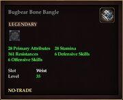 Bugbear Bone Bangle