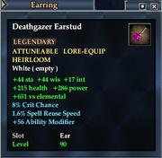 Deathgazer Earstud