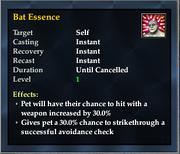 Bat Essence