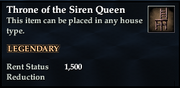 Throne of the Siren Queen