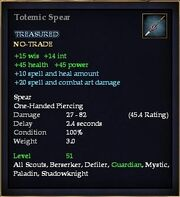 Totemic Spear