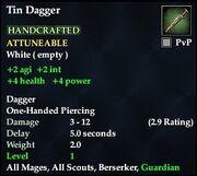 Tin Dagger