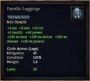 Faysilk Leggings
