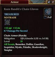 Keen Bandit Chain Gloves