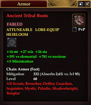 Ancient Tribal Boots