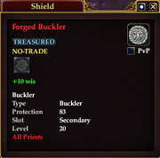 Forged Buckler