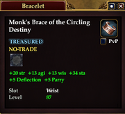 Monk's Brace of the Circling Destiny
