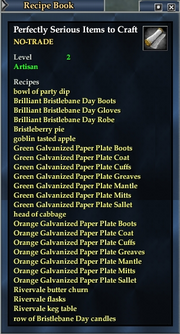 Perfectly Serious Items to Craft