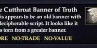 The Cutthroat Banner of Truth