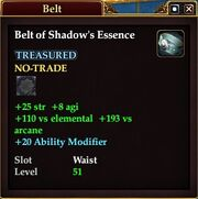Belt of Shadow's Essence