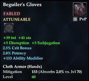 Beguiler's Gloves (Fabled)